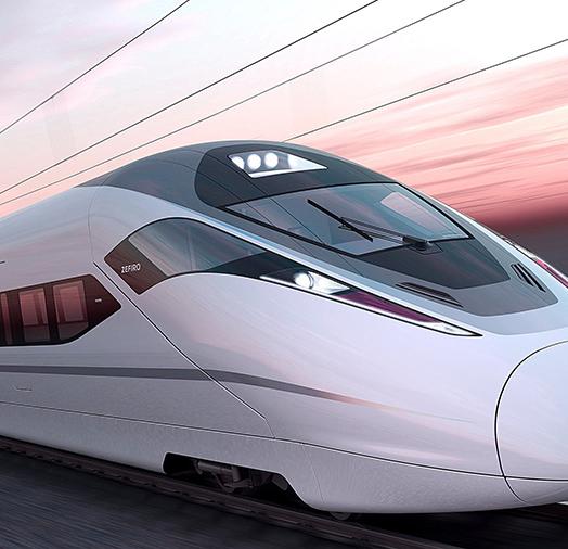铁路列车精密零配件